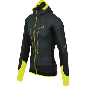Karpos Alagna Plus Evo Jacket Men, asphalt/yellow fluo